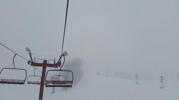 Nubs Nob Ski Area - a random short blizzard - © kylemtb
