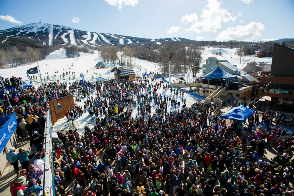 No East Coast season would be complete without Sugarloaf's annual Reggaefest. - © Sugarloaf