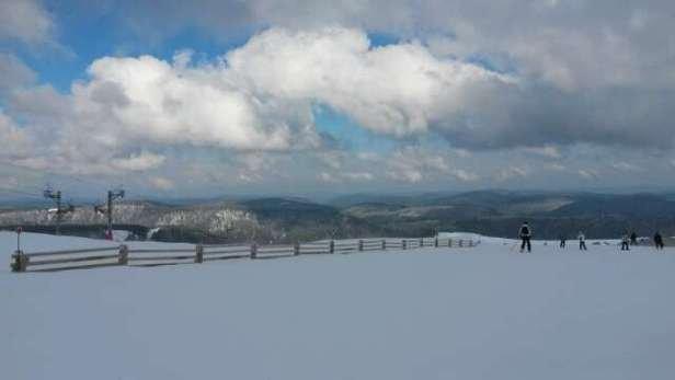 La Bresse Hohneck - Personne sur les pistes, neige de super qualité et du soleil :-) - © wintercath