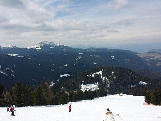 Obereggen - Pampeago - Predazzo - Neve perfetta nonostante fosse aprile. al mattino -10. gran fine stagione! - © ing.federico.serra@gmail