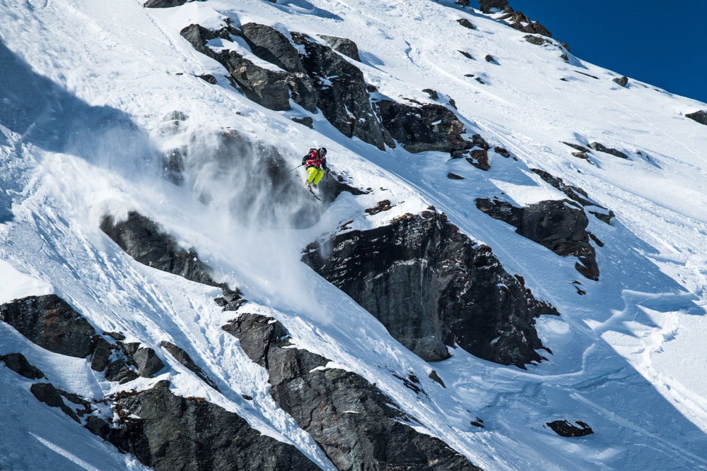 Freeride World Tour 2015 in Verbier - © David Carlier | Freeride World Tour