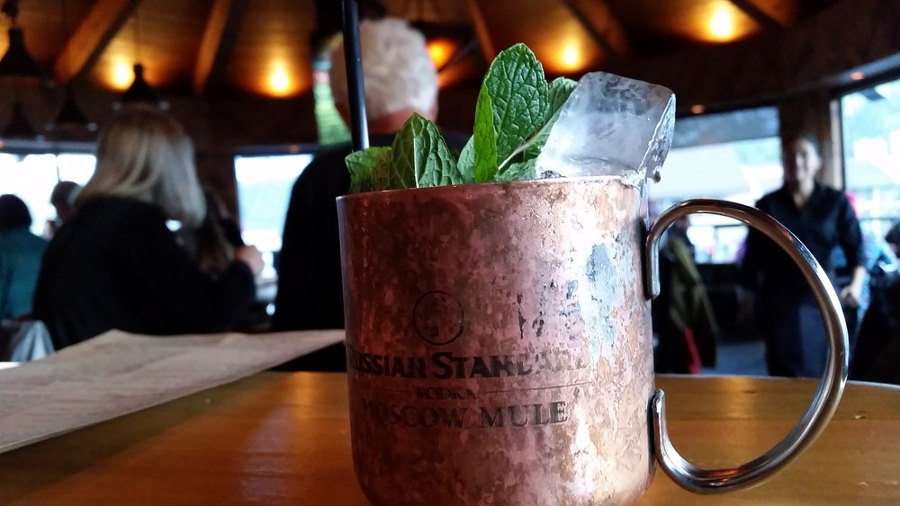 Mammoth Tavern's take on a Moscow Mule. - © Heather B. Fried