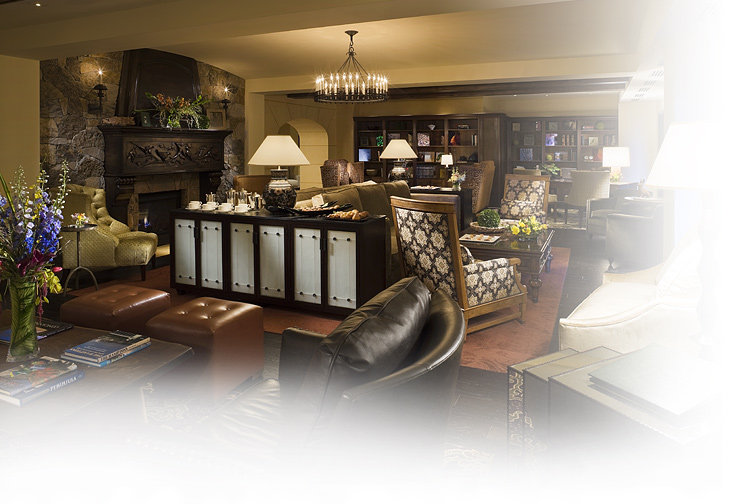 Interior of the Capella, Telluride, CO.
