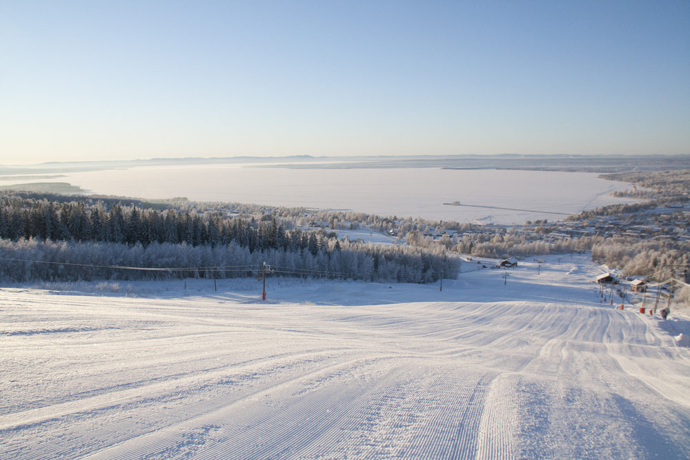Vilken utsikt! - © Jonas Wahlstrand | Rättviksbacken @ Skiinfo Lounge