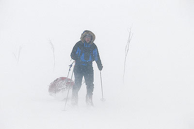 Schlechtes Wetter - © Hülle