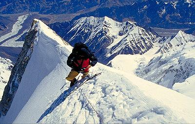 Mees am Gasherbrum II - © Klaus Mees