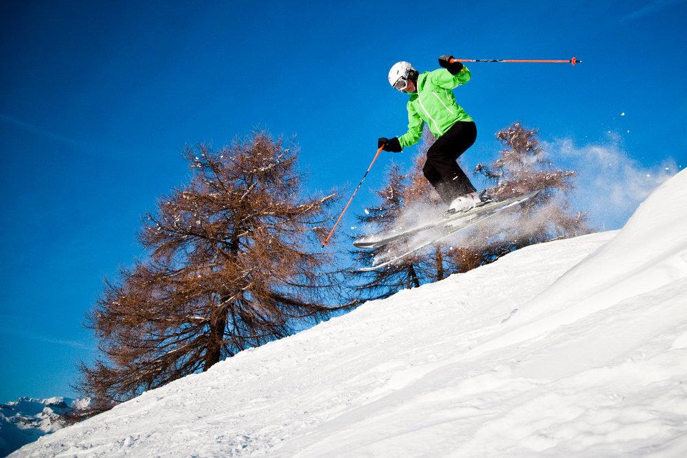 Ski sur le domaine skiable de Veysonnaz - © lafouinographe.com