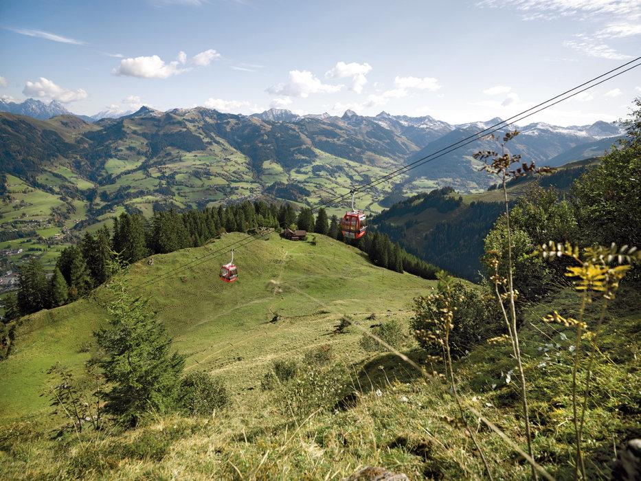 Hahnenkammbahn im Sommer - ©Kitzbühel Tourismus