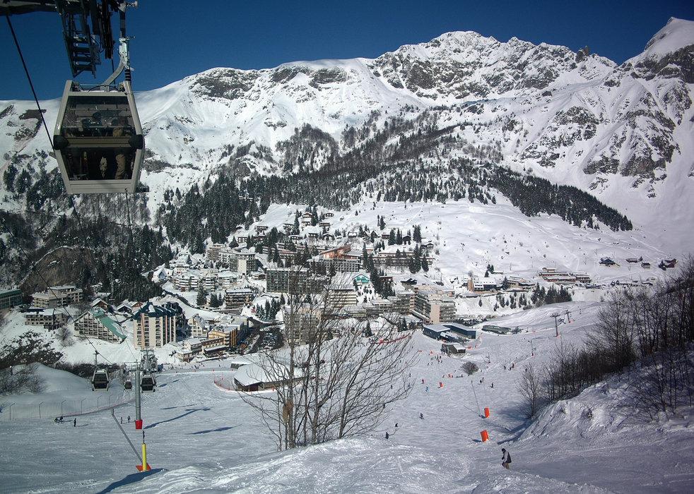 En route pour les pistes de ski de Gourette - © Office de Tourisme de Gourette