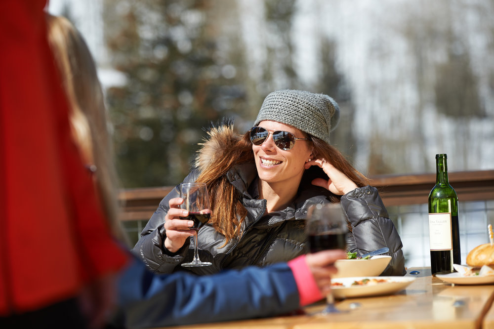 Livin' the Beaver Creek lifestyle.  - © Vail Resorts Photography