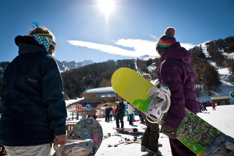 En route pour les pistes de ski des Karellis - © Office de Tourisme des Karellis