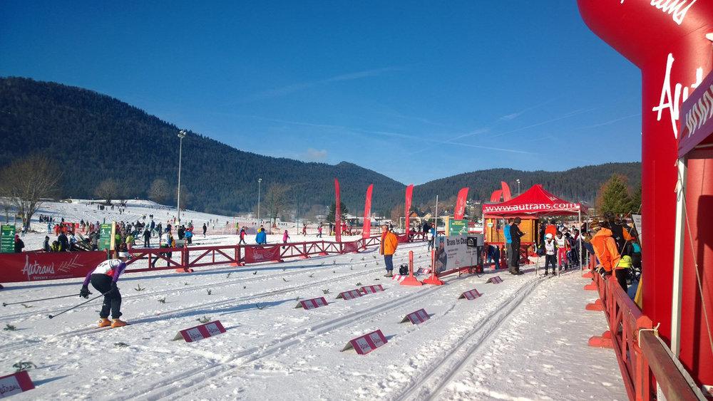 Course du Dauphié, Foulée Blanche... chaque hiver, Autrans est le théâtre de nombreuses compétions de ski nordique - © Autrans Méaudre Tourisme
