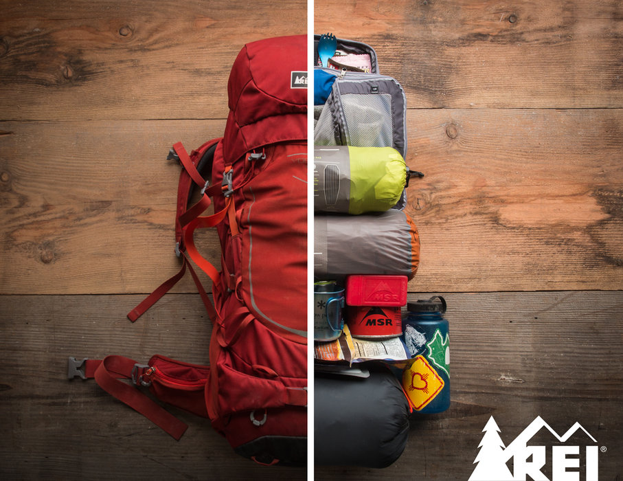 Consider your order of operations when packing your bag; thank yourself later. - © REI