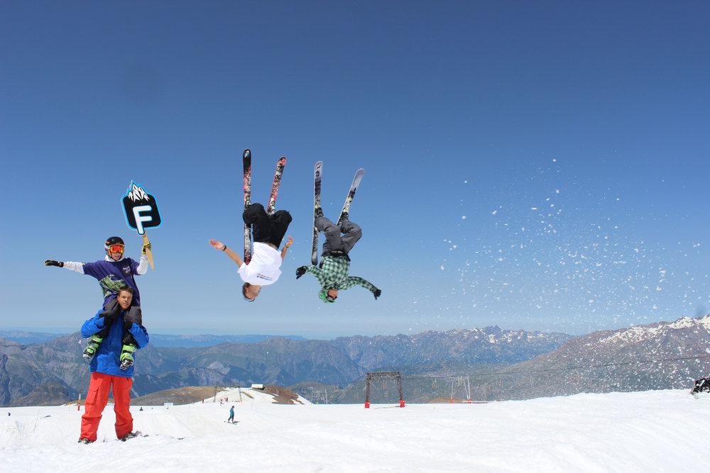 Summer Freeskicamp a Les Deux Alpes