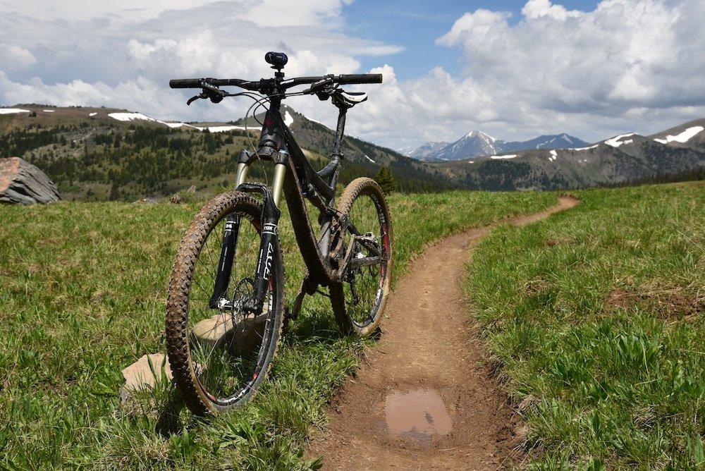 Bike on Monarch Crest - © Josh Cooley