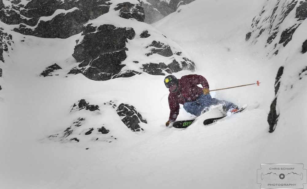 No sunny breaks and no complaining in Portillo at the moment. - © Chris Scharf Photography