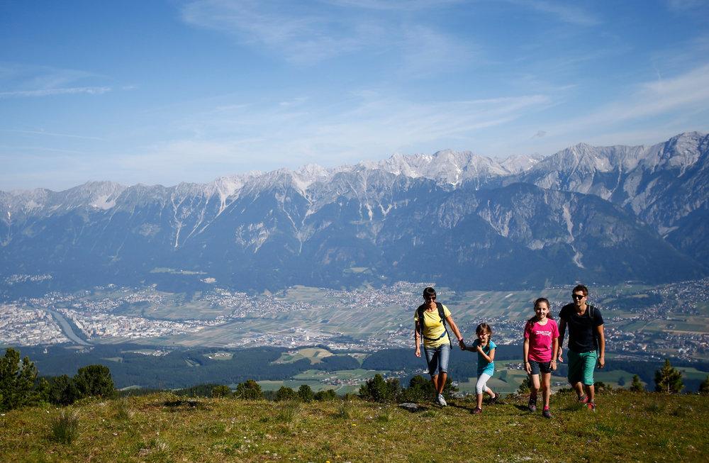 Wandern mit der Familie in der Region Hall-Wattens - © hall-wattens.at