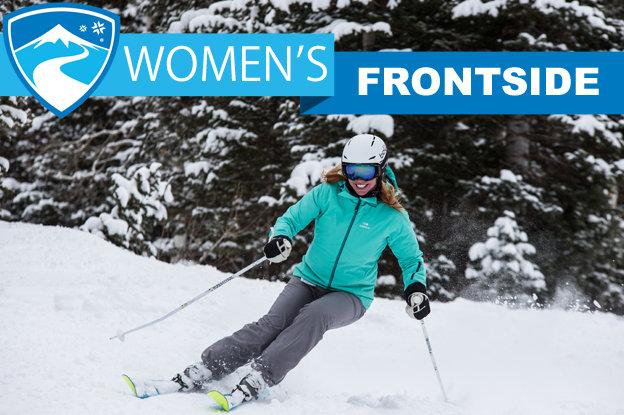 Women's 2015/2016 Frontside skis.  - © Liam Doran