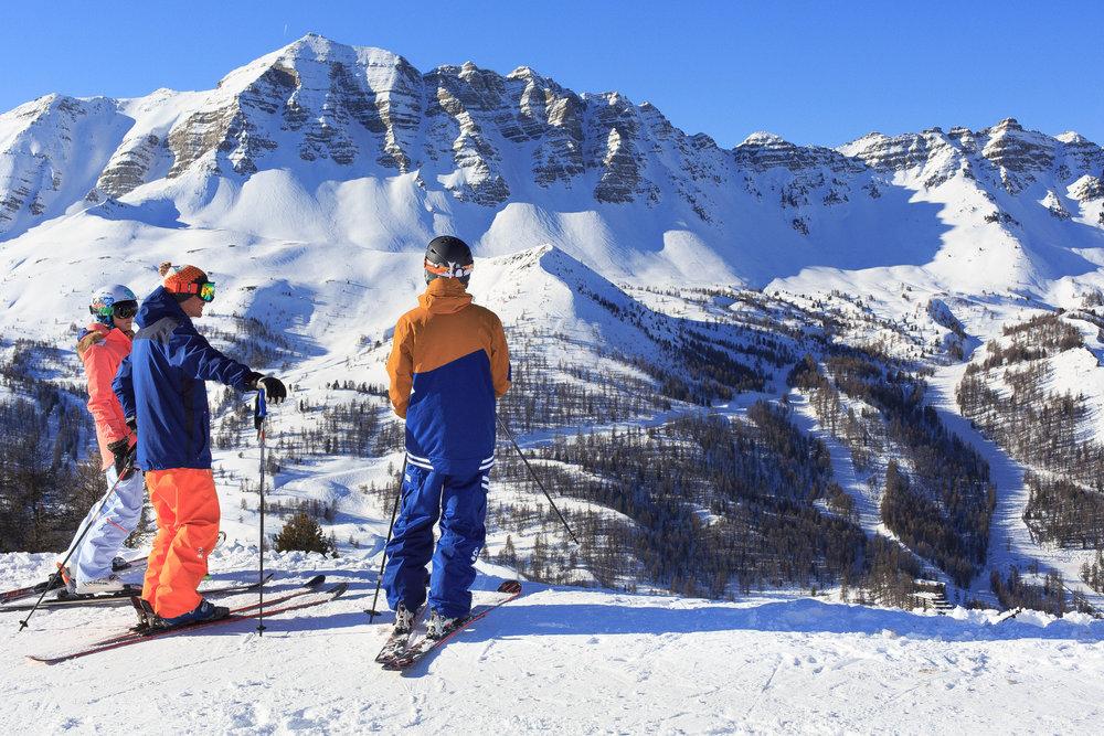 La barre de l'Eyssina, un spot mythique pour tous les amateurs de ski hors-pistes - © Scalpfoto