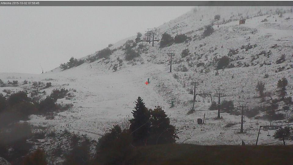 Artesina, Neve fresca 02.10.15 - © Artesina Official Page FB
