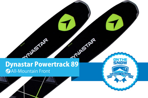 Dynastar Powertrack 89: Editors' Choice, Men's All-Mountain Front