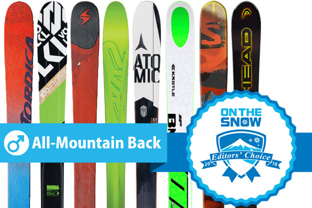 Men's All-Mountain Back Editors' Choice 2015/2016