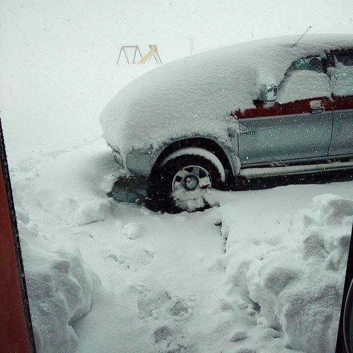 Prato Nevoso, Neve fresca 02.10.15 - © Prato Nevoso Facebook