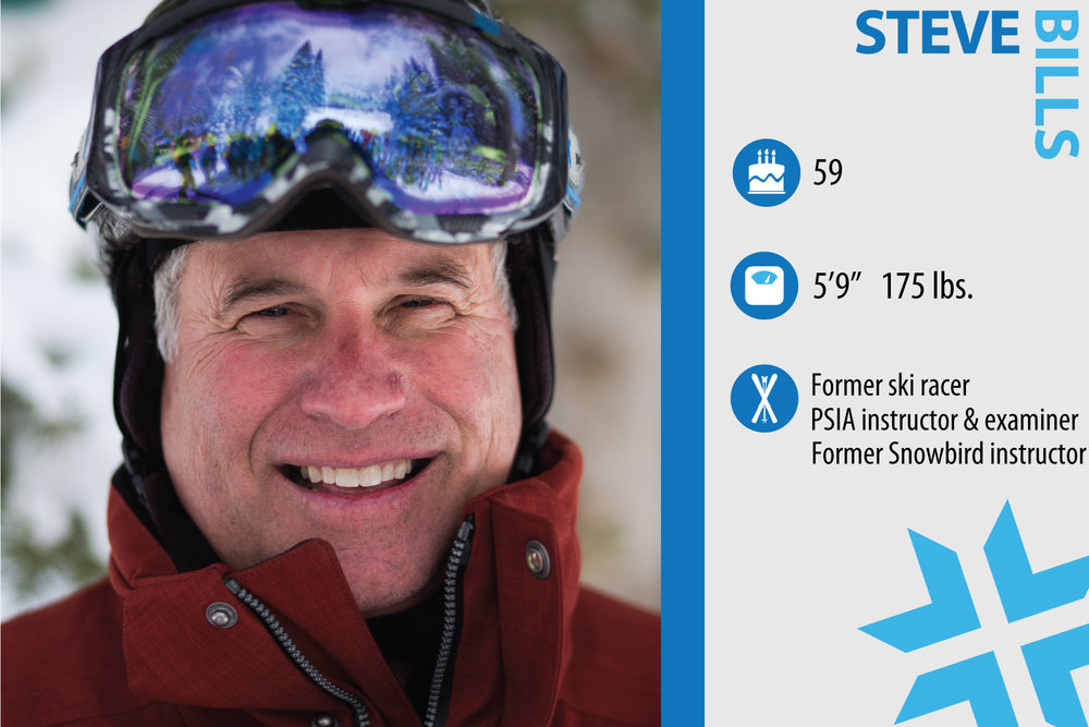 "Steve Bills. Job in real life: General Manager Canyon Services. If you could design something to enhance your skiing experience, what would it be and why? ""Heated chairlift seats for those cold, cold days."" - © Liam Doran"