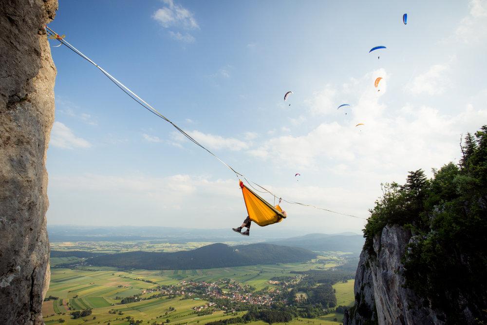 Into the sky - © VAUDE Visions | Sebastian Wahlhütter