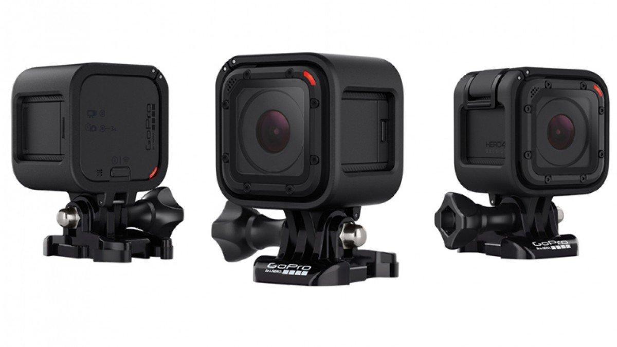 Julegave til skikjøreren - GoPro trenger ingen presentasjon, men det nye kameraet deres er skikkelig kult, og skikkelig lite. - © www.gopro.com