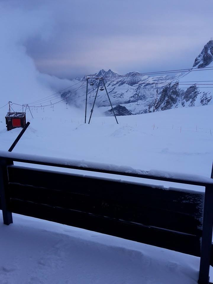Cervinia 28.10.2015 - © Rifugio Guide del Cervino - Facebook