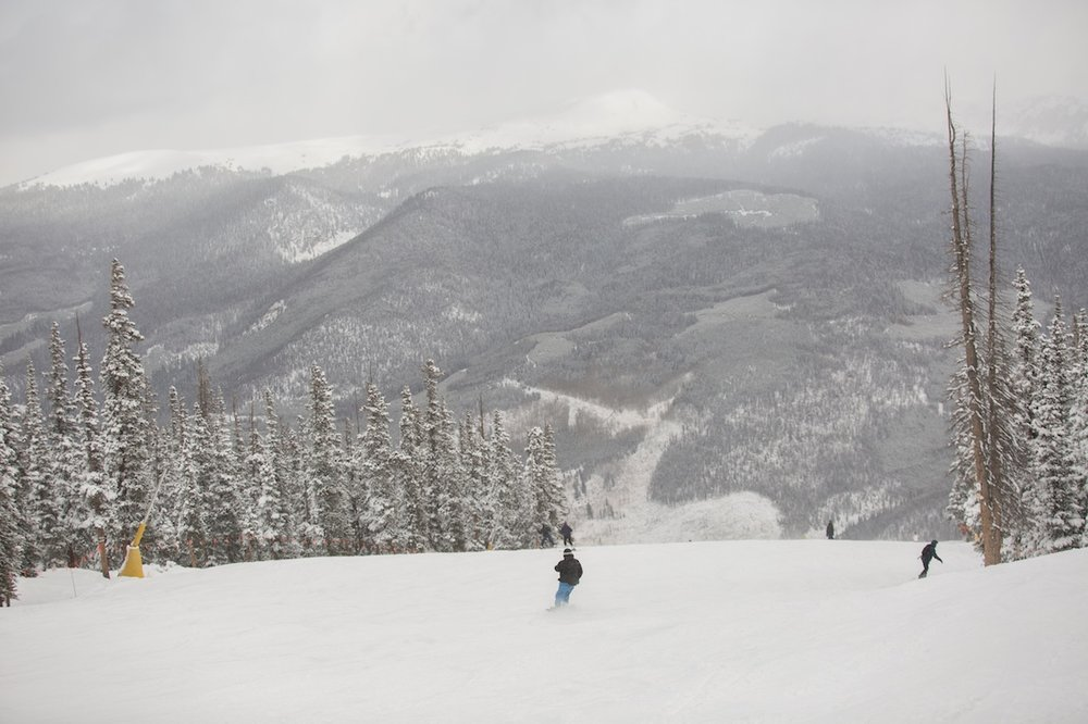 Keystone offers more than 1,600 vertical feet of terrain on opening day - © Keystone Resort