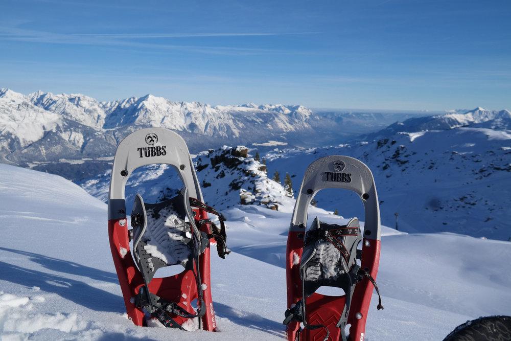 Eine herrliche Aussicht über die Berge - © Tourismusverband Region Hall-Wattens