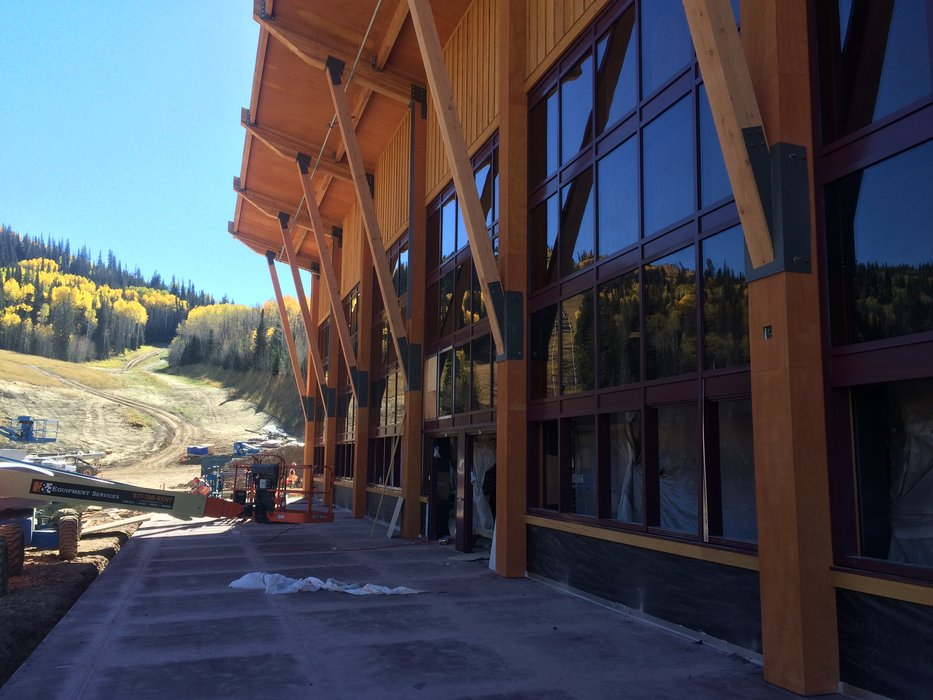 Miners Camp Lodge is a new 500-seat eatery at the base of the Park City side of the new Quicksilver Gondola. - © Park City/Vail Resorts