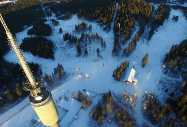 Det går mot åpning i Oslo Vinterpark - ©Oslo Vinterpark