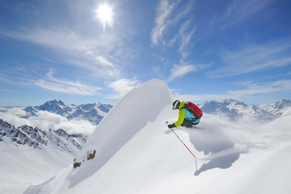 Sankt Anton opent dit weekend. - © St. Anton am Arlberg