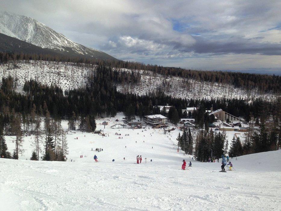 Víkendová lyžovačka na Štrbskom Plese - 13.12.2015