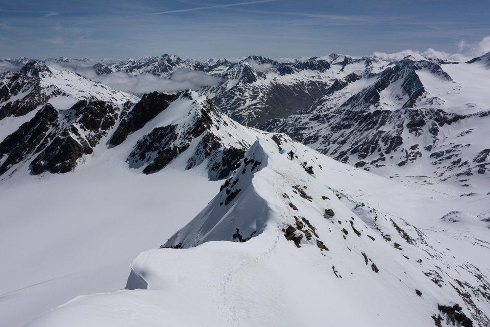 Gipfelgrat Finailspitze - © Erika Spengler