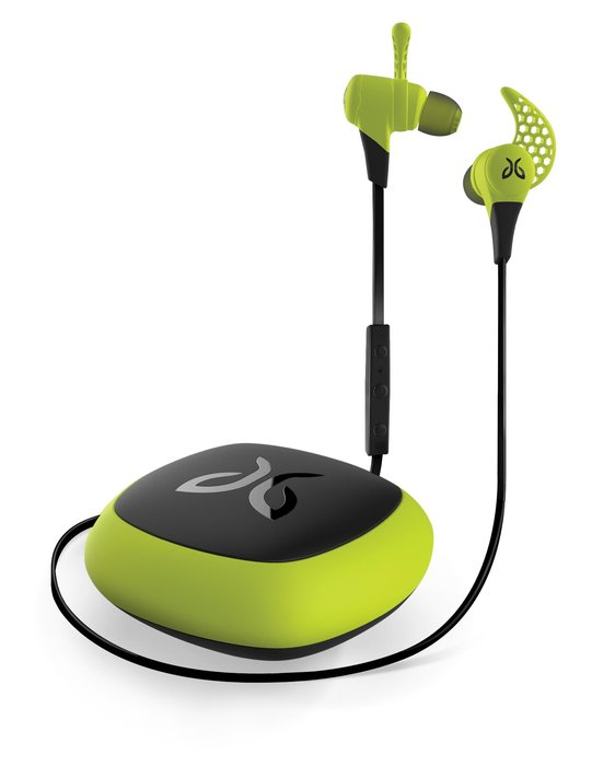 Jaybird X2 Wireless Buds: $179.95 Jaybird's bluetooth buds will outlast your ski legs with an eight-hour battery life. Even better, these sweat-proof buds will stay put with the company's exclusive secure fit.