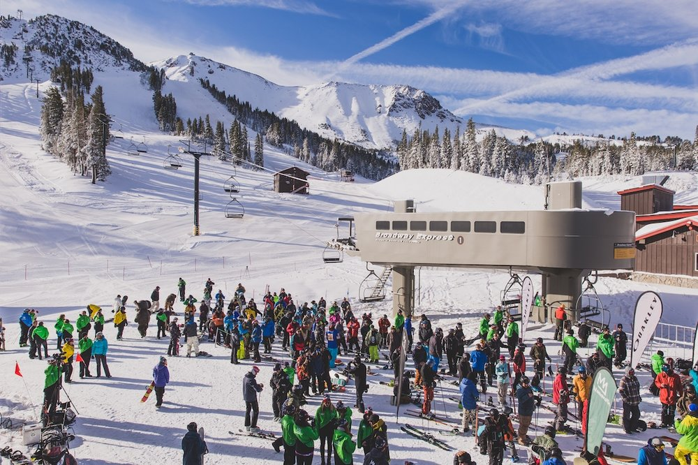 Mammoth offers its best opening day conditions in five years - © Peter Morning/MMSA