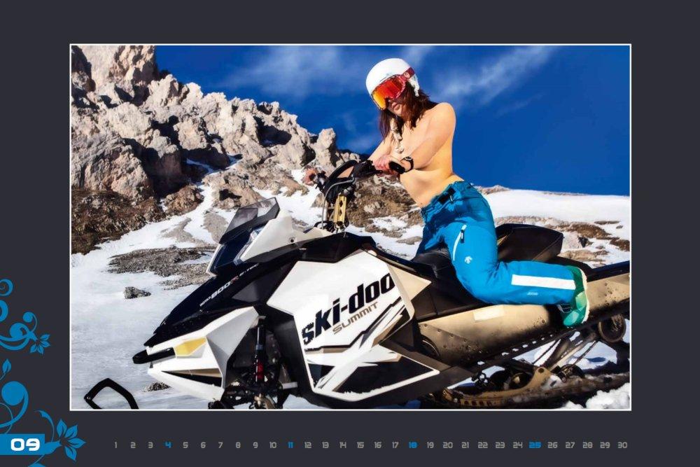 Kalendár lyžiarskych inštruktoriek z Val Gardena: September 2016 - © Scuola Sci Selva http://www.scuolasciselva.com - Robert Perathoner ski instructor & photographer - www.foto-prodigit.com