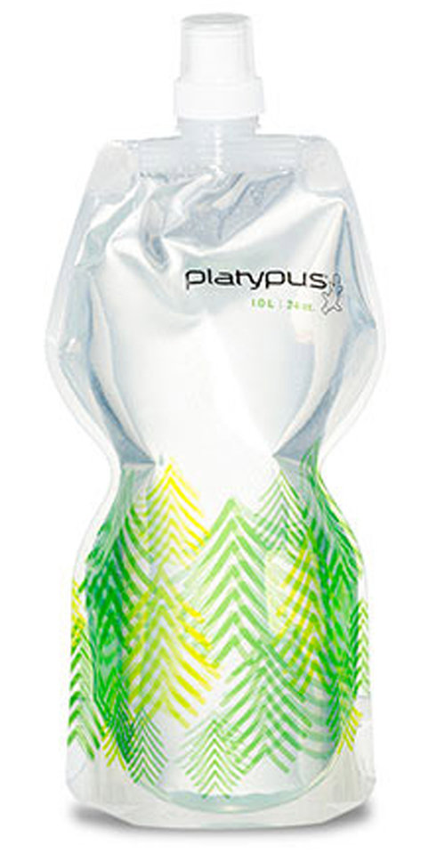 Platypus SoftBottle: $8.95 BPA, BPS, phthalate and just as importantly, taste free, this travel-friendly, stashable hydration vessel comes in a huge variety of colors and cap configurations. It's also offered in half and one-liter options.
