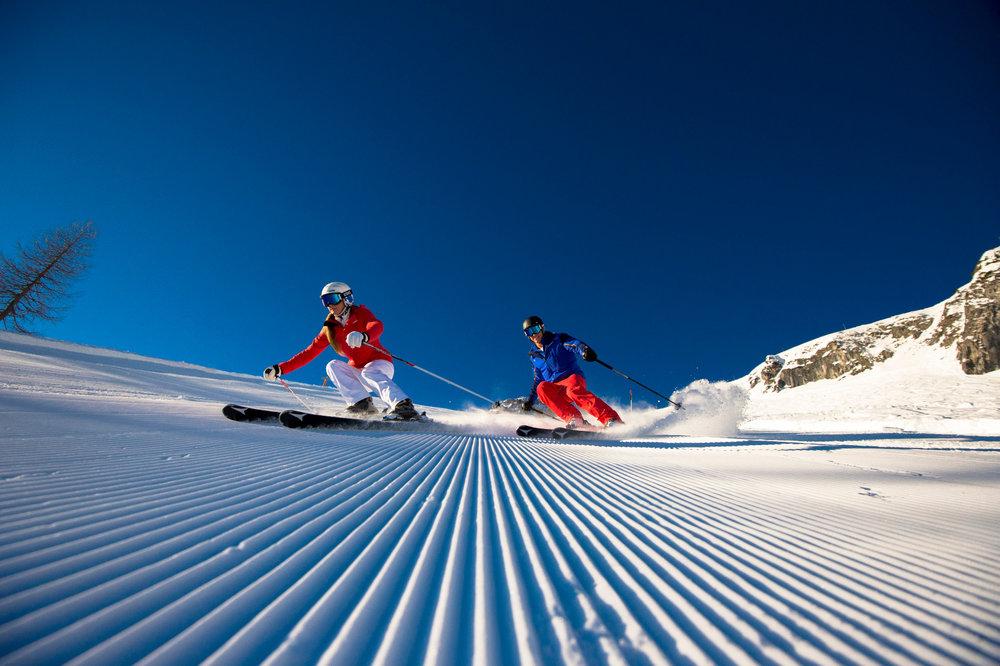 Hey, was geht ab: Top präparierte Pisten im Skiverbund Ski Amadé - © Ski amadé