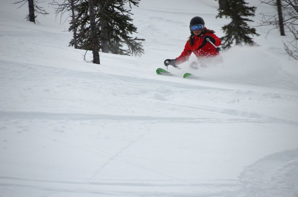 Glading in Taynton Bowl opened up the skiing space at Panorama. - © Panorama Mountain Resort