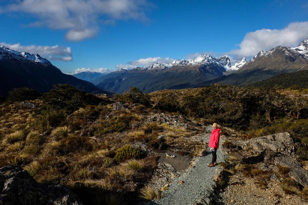 Unterwegs auf dem Key Summit Track - © Julia Mohr