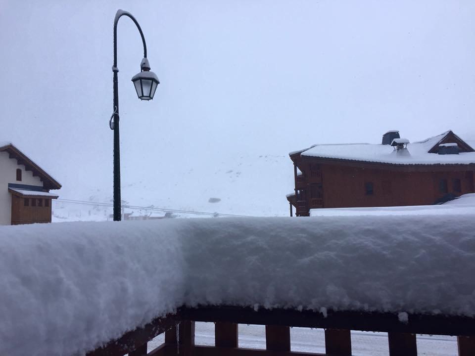 La première grosse chute de neige de la saison à Val Thorens (21 nov 2015) - © Val Thorens