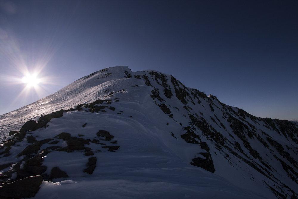 Der Gipfelgrat zum Similaun - © Erika Spengler