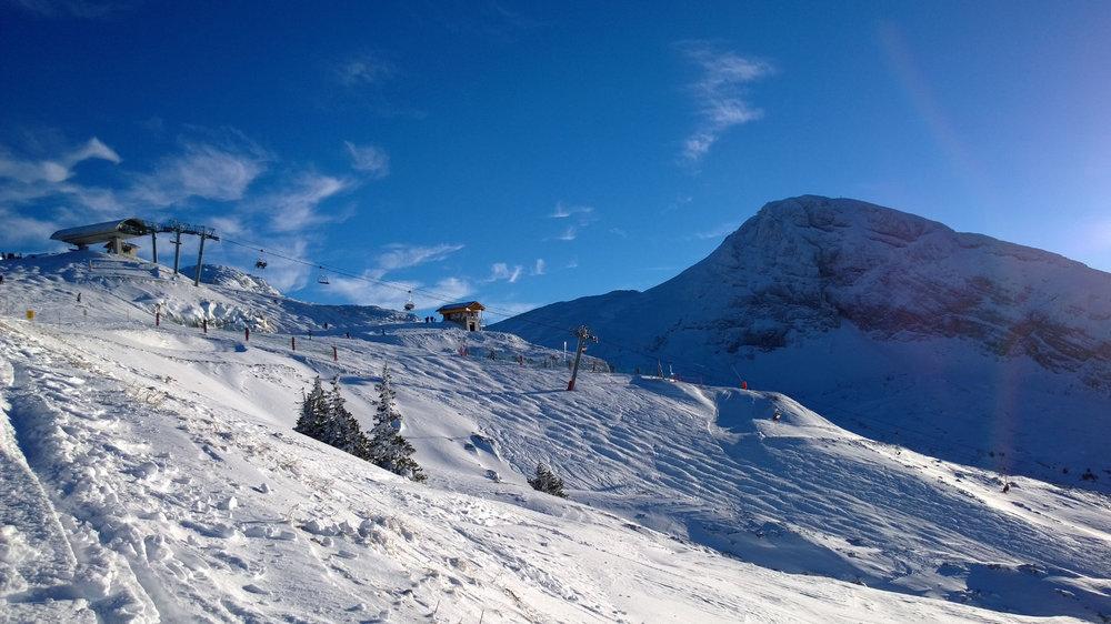 Sur les pistes de ski de Villard de Lans - © I Jouvin