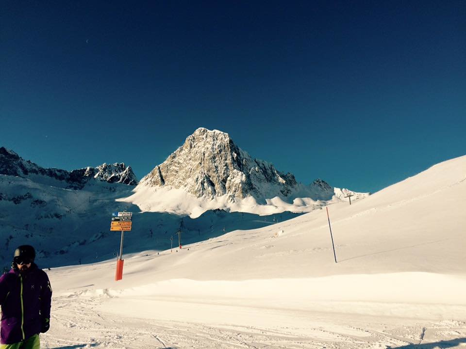 Tignes Jan. 3, 2016 - © Tignes/Facebook