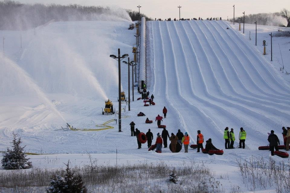 Tubing lanes at Wilmot Mountain. - © Wilmot Mountain
